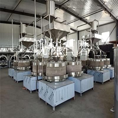 现林石磨 商用小磨香油流水线设备 全自动新型晃油机电动石磨