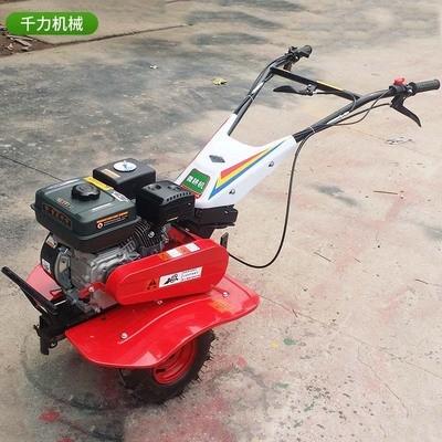 两驱汽油微耕机 小型农用微耕机 开沟犁地除草机松土旋耕机