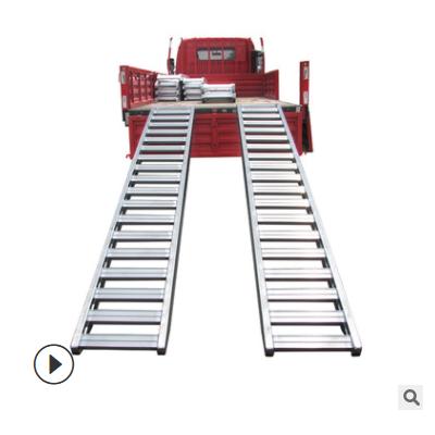 微挖铲车过桥梯跳板拖拉机微耕机过沟桥地质钻探地质钻探叉车跳板