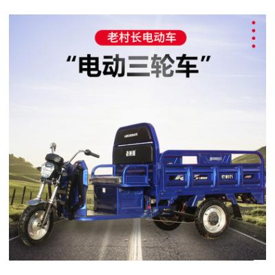 电动三轮车载重货运农用三轮车供应家用接送孩子三轮代步车